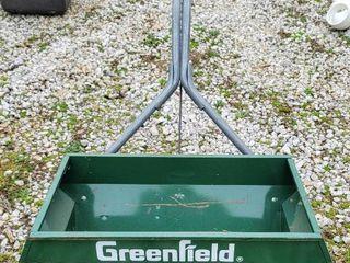 Greenfield Seed Fertilizer Spreader with lawn Marker