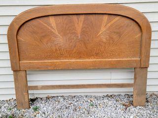 Vintage Solid Wood Headboard 62  W x 47  T