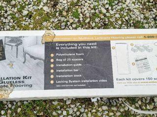 Installation Kit for Glueless laminate Flooring   new in box