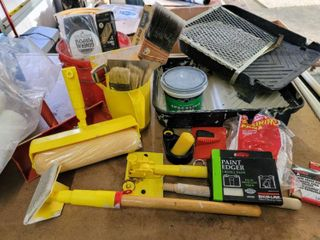 Paint Supplies   Roller Trays  Paint Brushes   Rollers  Staining Pads  Edgers  Spackling