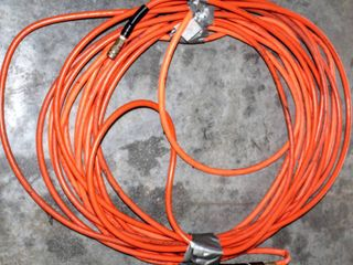 2  Pneumatic Hoses Wound  Unknown length