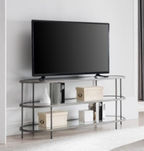 TV STAND IN BRUSHED BRASS FINISH   MODEl  TV0634