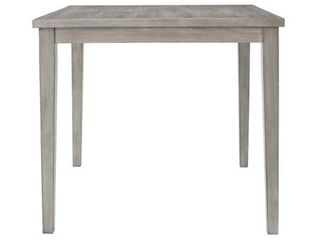 Parallen Gray Square Counter Height Table  Retail 435 99