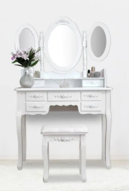 Home Accents 3 Mirror Wood Vanity