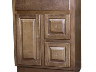Cognac bathroom vanity 24 x18  with drawers
