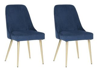 Signature Design by Ashley Trishcott Dining Side Chair Set of 2 Blue
