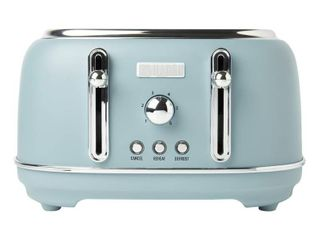 Haden Highclere 4 Slice  Wide Slot Toaster with Settings in Pool Blue  Retail 98 49