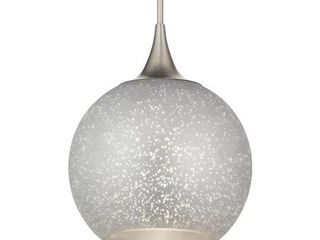 Kichler 43552 Sitara 1 light 14  Wide Single Pendant   Nickel