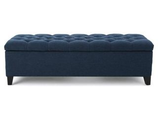 Ottilie Button tufted Storage Ottoman Bench by Christopher Knight Home  Retail 169 49