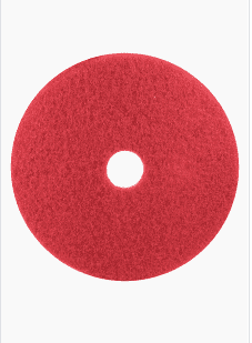 3m Buffer Pad 5100 Red 12  X 18  1 Case Of 5 Pads