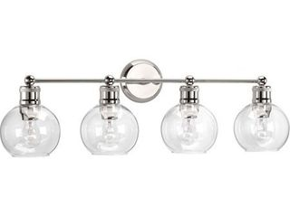 Hansford Collection 4 light Polished Nickel Bath light   N A  Retail 169 74