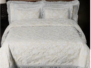 Gracewood Hollow Pattikim Jacquard Bedspread  Retail 168 99