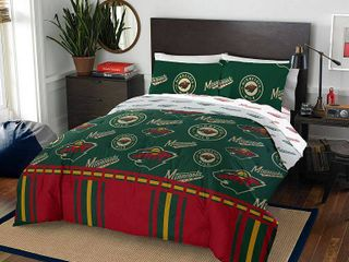 Minnesota Wild Queen Bed In Bag Set