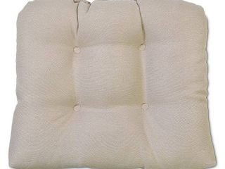 Set of Two Dwell and Decor Tufted Outdoor Seat Cushion