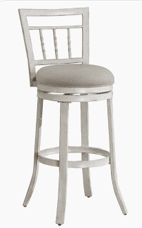 Gaby 26 inch Counter Stool by Greyson living  Retail 111 99 antique white