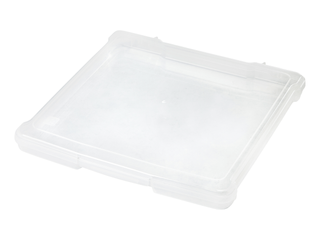 IRIS 12 inch x 12 inch Slim Portable Project Case  10 Pack  Clear