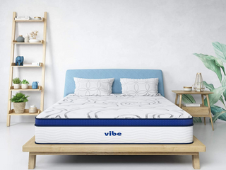 Vibe Hybrid Twin 12in Quilted Gel Memory Foam Mattress