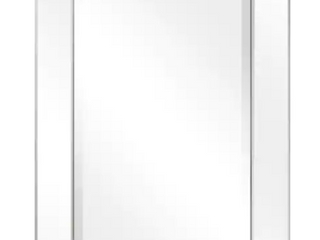 Beveled Rectangle Wall Mirror  Bathroom Bedroom living Room Ready to Hang   Clear  Retail 143 49