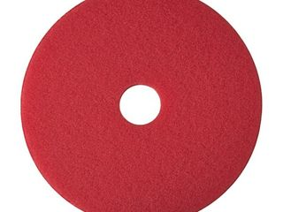 3M Floor Buffing Pad 20  5 BX Red 35053