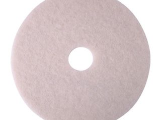3M  MMM35063  Niagara 4100N Floor Polishing Pads  5   Box  White