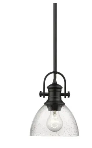 Carbon loft Barton Mini Pendant light  Retail 86 99