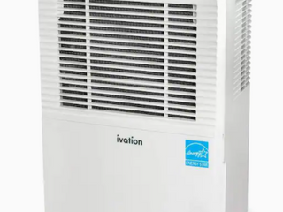 Ivation 50 Pint Dehumidifier With Automatic Pump