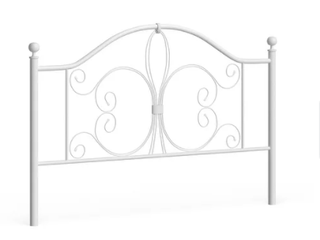 Copper Grove la Cloche Headboard White 61 w X 3 d X 49 75 h  Retail 139 99