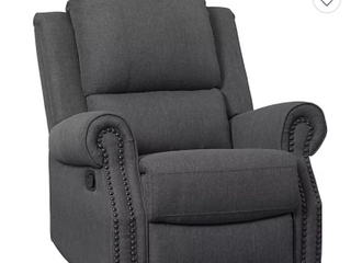 Delta Home Upholstered Swivel Glider Recliner