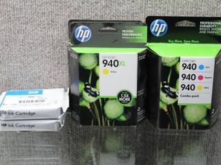lot of 5 Refill Ink Cartridges   HP Officejet   Mo   s   HP940Xl   Various Sizes