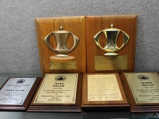 lot of 6 Award Plaques   Various Sizes