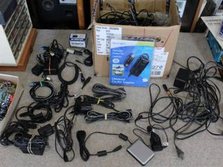 large lot of Assorted Power Cables     lOCAl PICKUP ONlY