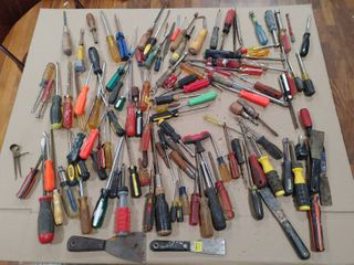 Huge lot Screwdrivers   All sizes   Brands   Various Sizes     lOCAl PICKUP ONlY