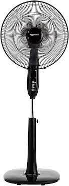 Amazon Basics Adjustable Oscillating Standing Pedestal Fan