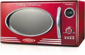 Retro Series 0 9 Cu  Ft  Microwave Oven