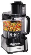 Hamilton Beach   Stack   Snap 12 cup Food Processor   Black