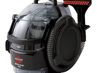 BISSEll SpotClean Pro Portable Upholstery and Carpet Cleaner   Black