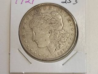 1921 Morgan Silver Dollar   100 Years Old