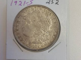 1921 S Morgan Silver Dollar   100 Years Old