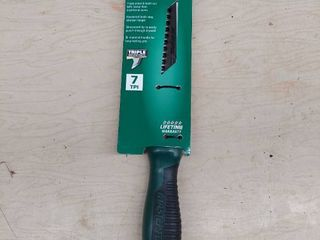 Masterforce Drywall Jab Saw 7 Tpi Triple Ground Hardened Tooth