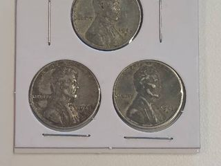 1943 Steel War Pennies   P D S Mint Marks