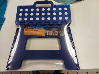 Folding Step Stool   Blue