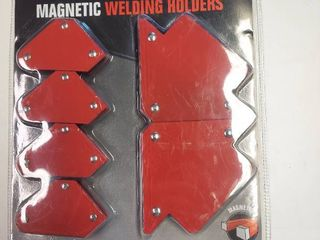 6 Pc Welding Magnets