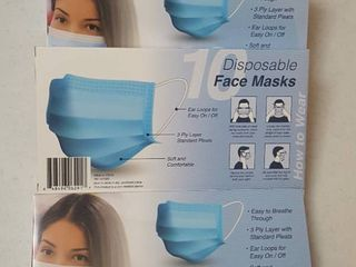 4  10 ct  pkg  disposable face masks