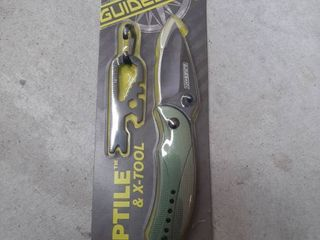 Guidesman Reptile And X tool Folding Knife