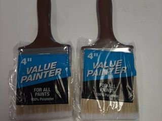 2  Value Painter 4  Polyester Paint Brush