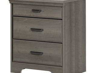 Versa 2 drawer Nightstand w  Charging Station by South Shore  Retail 190 81