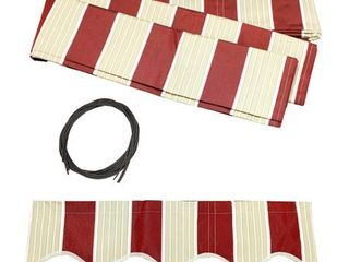 AlEKO Replacement Fabric for Retractable Awning 12x10 ft   Retail 83 99