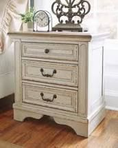 Realyn Nightstand  Retail 269 49 antique white