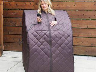 Harmony Deluxe Oversized Portable Sauna   Retail 311 80