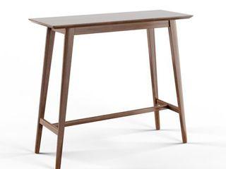 Carson Carrington Viborg Walnut Finish Wood Bar Table  Retail 148 99